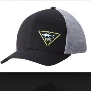 Columbia PFG Mesh Ball Cap logo black